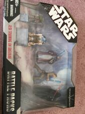 Star Wars The Empire Strikes Back Battle Packs Jedi Training On Dagobah