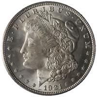 1921-P Morgan Silver Dollar PCGS MS65 Blazing White Gem Nice Strike STOCK