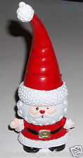 Vintage Cute Santa Plastic Ornament Very Good Condition Rare
