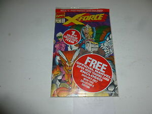 X-FORCE Comic - Vol 1 - No 1 - Date 08/1991 - Marvel Comic WIth Card & Cover Bag