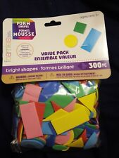 Foam Shapes Value Pack Darice 300 Pieces