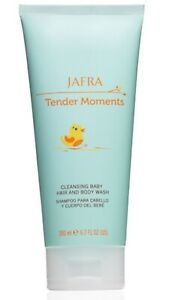 Jafra Tender  Moments Cleansing Baby Hair And Body Wash 6.7 Fl OZ New & Sealed