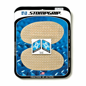 "STOMP GRIP Universal Small Streetbike Traction Pad Kit 4.75"" X 8.75"" (Clear)"