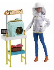 MATTEL Barbie Beekeeper doll Brunette New Genuine BNIB Uk Seller 🇬🇧