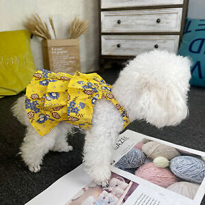 Pet Dress Bright Color Breathable Lightweight Small for Pet