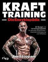 KRAFTTRAINING Die Enzyklopädie Muskeln Muskelaufbau Übung Fitness-Studio Buch