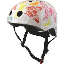 Kiddimoto Helmet Childs Kids Bike BMX Cycle Stunt Scooter Skate Butterfly Medium