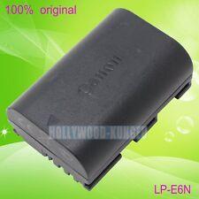 Genuine Original Canon LP-E6N LPE6N Battery for EOS  6D 60D 70D 7D LP-E6 LC-E6E