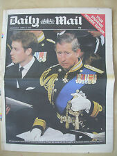 VINTAGE NEWSPAPER DAILY MAIL APRIL 10th 2002 QUEEN MOTHER FINAL FAREWELL