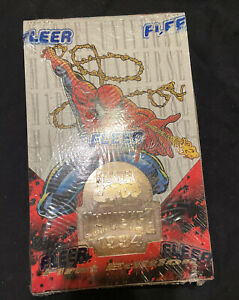 1994 FLEER MARVEL UNIVERSE FIRST EDITION TRADING CARDS FACTORY SEALED BOX
