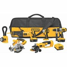 DeWALT DCK655X 6-Tool COMBO KIT Drill Grinder Impact SAW w/Bag NEW
