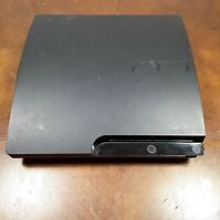 Sony Playstation 3 PS3 Slim CECH-3001A Console Only for Parts or Repair