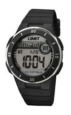Limit Watch, Multi Function Digital, Black Strap and case, New, Limit 5556.