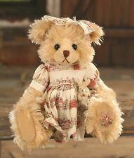 "SETTLER BEARS ADELAIDE COLLECTION LILLIAN 10"" PLUSH TEDDY BEAR - BNWT"