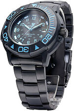 Smith & Wesson Watch SWW-900-BLU Tritium Dive Watch. Includes both a black finis