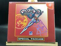 NEW!! Grandia II special pack (Sega Dreamcast, 2000) from japan