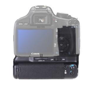 Vertical Battery Grip for Canon 550D 600D 650D 700D Rebel T2i T3i  Kiss X4 DSLR