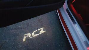 Peugeot RCZ Door Courtesy Lights - 'RCZ' Logo