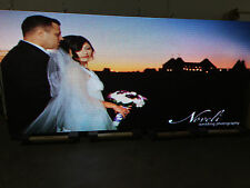 "1 SIDED OUTDOOR FULL COLOR LED SIGN 5x10 126""L X 63""H PROGRAMMABLE WIFI P10 10mm"