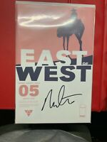 East of West #5 first printing SIGNED by Nick Dragotta Image Comics NM!