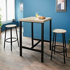 Michigan 3 Piece Breakfast Bar Set FREE AND FAST DELIVERY