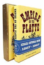 Richard Crabb - Empire on the Platte - SIGNED LIMITED 1ST ED. - NE Centen. 1/250