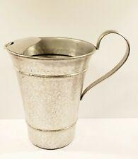 Vintage GAILSTYN HAMMERED ALUMINUM WATER PITCHER w/Ice lip