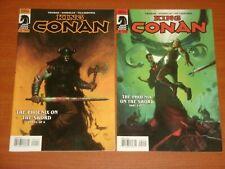 Dark Horse Comics:  KING CONAN 'THE PHOENIX ON THE SWORD' #1 - #4 Complete Set