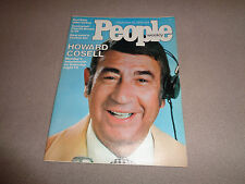 People - September 29, 1975 - Howard Cosell Cover