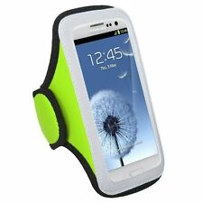Green Sports Universal Armband Pouch Case Dell Venue GSM Phone 3G Android