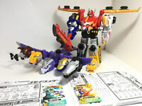 DHL Bandai Power Rangers Goseiger DX Gosei Great Gosei wonder megazord Japan VG+