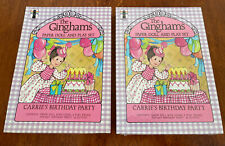 1978 - The Ginghams Paper Doll Playset Carrie's Birthday Party New/Used Lot 2