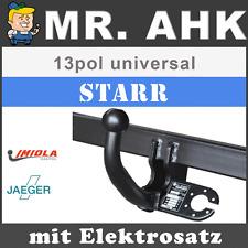 HOOK Fiat Doblo Cargo 119//223 05-09 AHK Anhängerkupplung starr 13pol spe ESatz