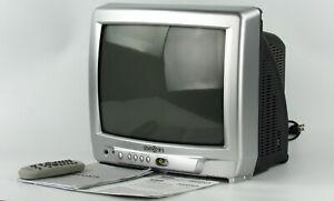 INSIGNIA IS-TV040917 CRT TV Retro Gaming Original Remote Vintage Watch Video