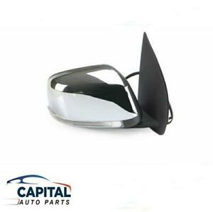 Right Electric Chrome Door Mirror with LED light for Nissan Pathfinder R51 05-13
