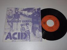 """7""""/ACID (STEGER, PONGER, NOVACEK) MIDNIGHT QUEEN/SIX TO SEVEN/CBS 2139 Austria"""