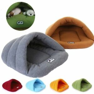 Soft Warm Nest Kennel Bed Cave House Sleeping Bag Mat Pad Tent Puppy Pet Cat Dog