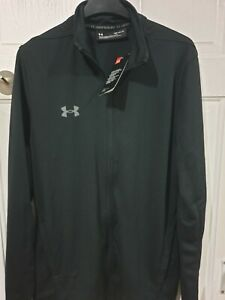Mens UNDER ARMOUR ZIP UP TOP size L BNWT