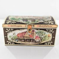 Decorative Collectible German Tin Box - Gottfried Wicklein Nuremberg Gingerbread