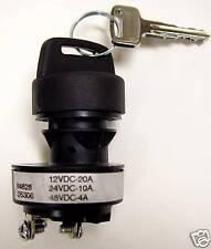 Honeywell/ Hobbs Key Switch P/N 84828 - Nilfisk Advance, Clark, Viper OEM Part