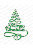 MERRY TREE DIE-Impression Obsession/IO Stamps (DIE106-S)-Steel-Christmas Holiday