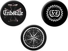 ENDSTILLE - Button-Set - Buttons - Badges - Neu