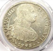 1793-MO FM Mexico Charles IV 8 Reales Coin (8R) - Certified PCGS AU53