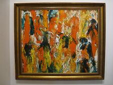 """""""Menschen in der Stadt"""" Expressionismus, Expressionist"""