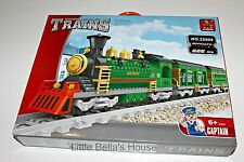 Ausini TRAINS Set #25904 Building Block Toy 666pcs city classic (lego compatible