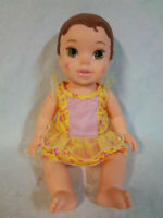 "Disney Princess Baby Belle Beauty & the Beast Baby Doll 13"" Toy"
