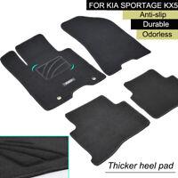 Floor Mat Carpet For Kia SPORTAGE Kx5 16-19 LHD Anti-slip Liner Custom Fit Pad