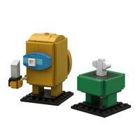 Building Block Set Among Us Impostor & Crew Game Toy Doll Figure Brick Kids Gift