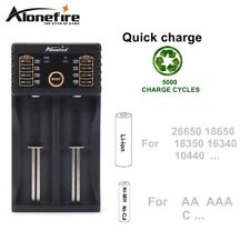 NiMH Flashlight USB Batteries Charger For AA AAA 18350 26650 14500 16340