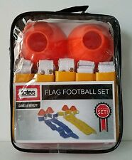 New 10 Player Totes Brand Flag Football Set Game Novelty